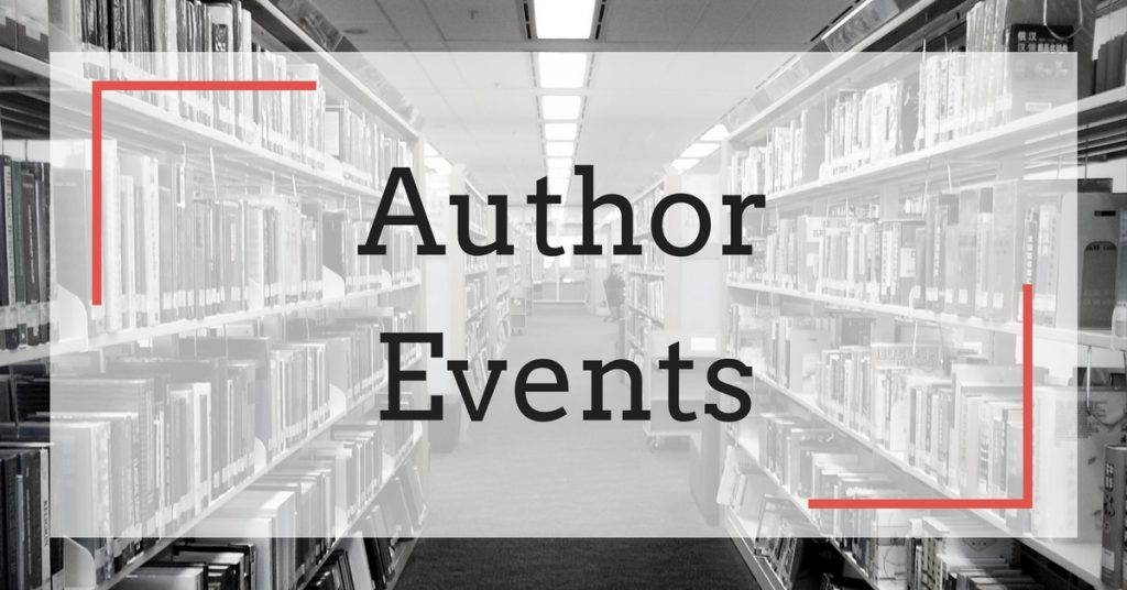 Author Brent Jones Meet-and-Greet Events: May 2017