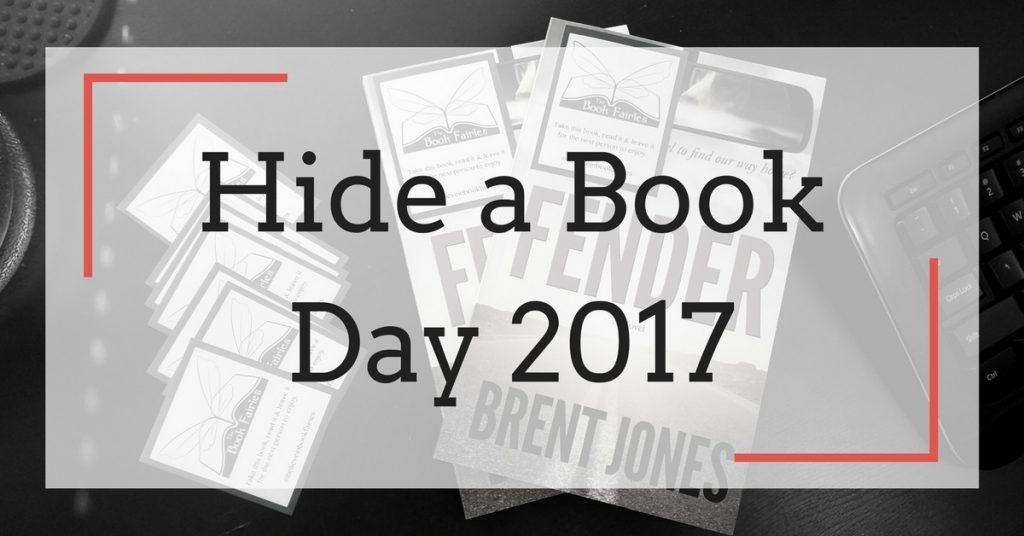 "Hide a Book Day 2017 — Find Two Copies of ""Fender"" Around Niagara Region"