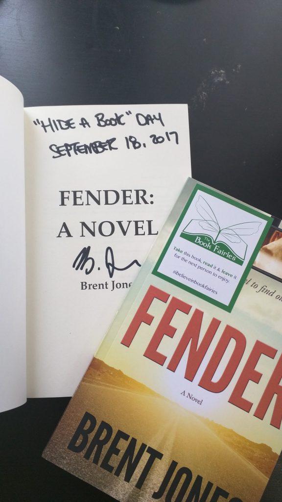 Fender: A Novel (Hide a Book Day 2017)