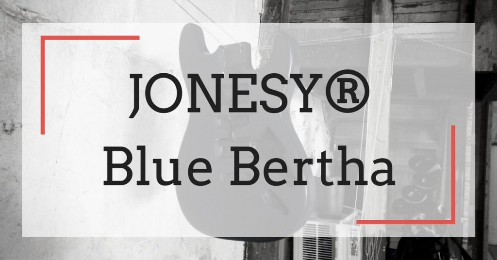 "JONESY® Blue Bertha: My First ""Partscaster"" Guitar Build"