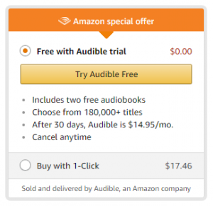 Free with Audible trial: Try Audible Free