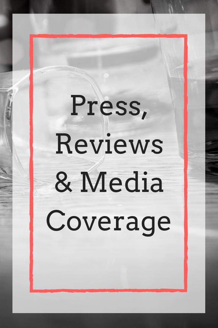 Press, Reviews & Media Coverage